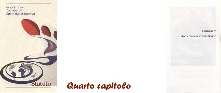 Statuto-Quarto Capitolo