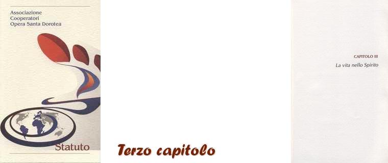 Statuto-Terzo Capitolo